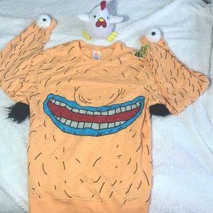 AAAHH!!! Real Monsters Krumm Cosplay Pullover